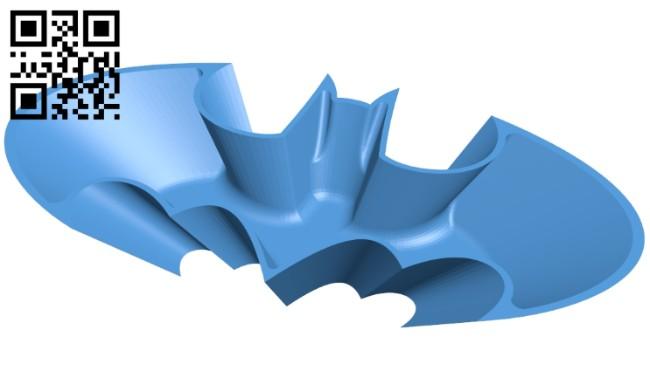 Candy bowl batman B007500 file stl free download 3D Model for CNC and 3d printer
