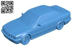 Car BMW B007438 file stl free download 3D Model for CNC and 3d printer
