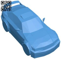 Car bmw e36 B007587 file stl free download 3D Model for CNC and 3d printer