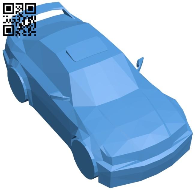 Car bmw e36 B007587 file stl free download 3D Model for CNC and 3d printer