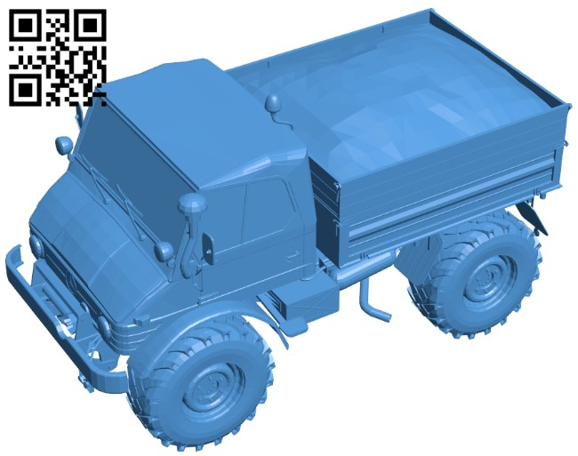 Cargo truck B007331 file stl free download 3D Model for CNC and 3d printer