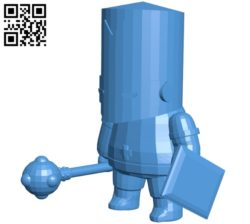 Castle Crusher B007119 file stl free download 3D Model for CNC and 3d printer