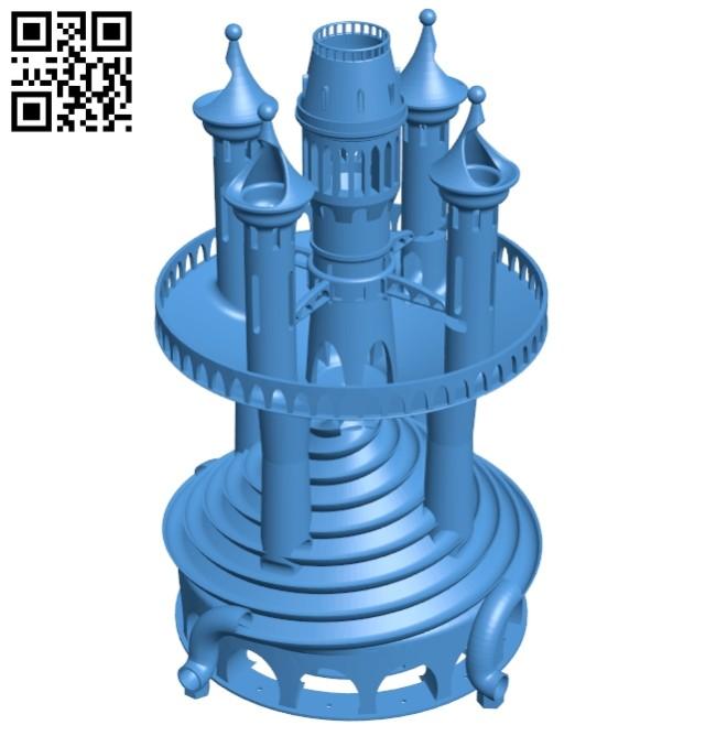 Castle twist baugruppe B007494 file stl free download 3D Model for CNC and 3d printer