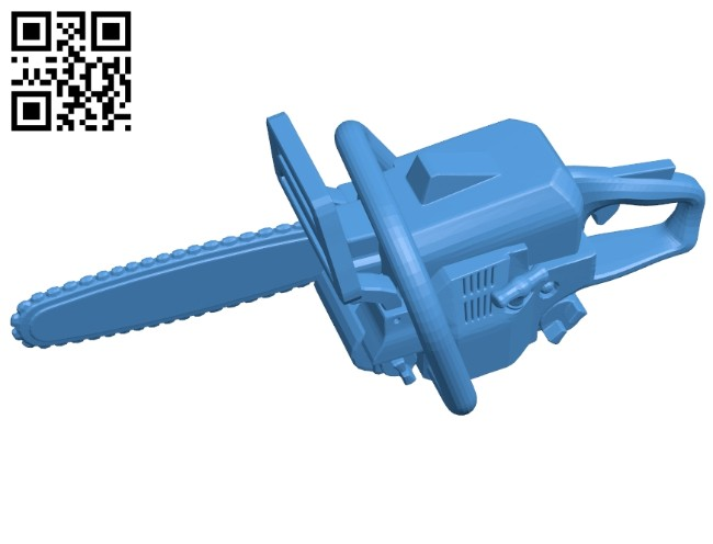 Chainsaw B007456 file stl free download 3D Model for CNC and 3d printer
