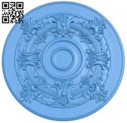 Circular disk pattern A004858 download free stl files 3d model for CNC wood carving
