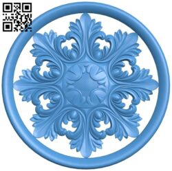 Circular disk pattern A004860 download free stl files 3d model for CNC wood carving