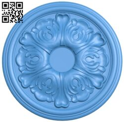 Circular disk pattern A004886 download free stl files 3d model for CNC wood carving
