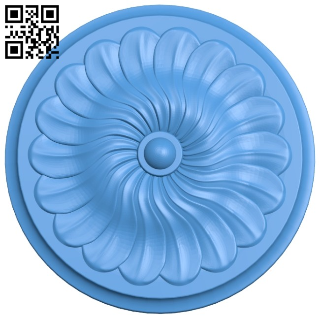 Circular disk pattern A004887 download free stl files 3d model for CNC wood carving