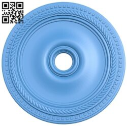 Circular disk pattern A004888 download free stl files 3d model for CNC wood carving