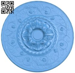 Circular disk pattern A004890 download free stl files 3d model for CNC wood carving