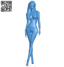 Club fashionista girl B007554 file stl free download 3D Model for CNC and 3d printer