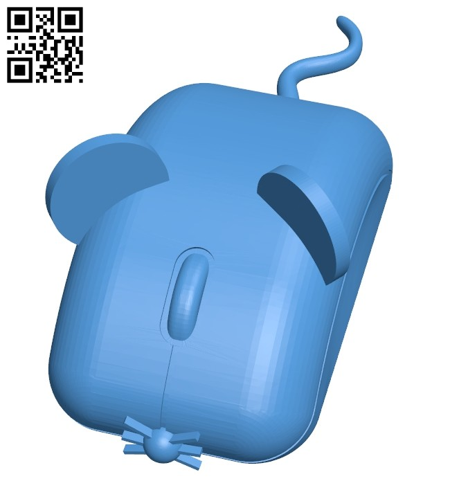 Computer Mouse B007385 file stl free download 3D Model for CNC and 3d printer