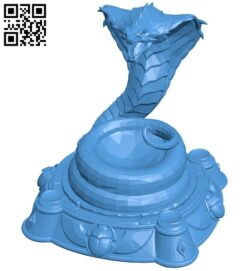 Core snake building B007408 file stl free download 3D Model for CNC and 3d printer