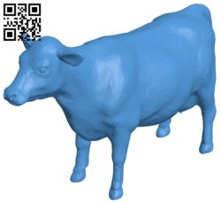 Cow B007129 file stl free download 3D Model for CNC and 3d printer