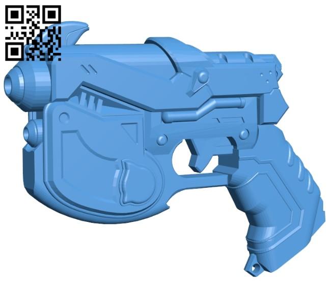 D.Va waveracer gun B007493 file stl free download 3D Model for CNC and 3d printer