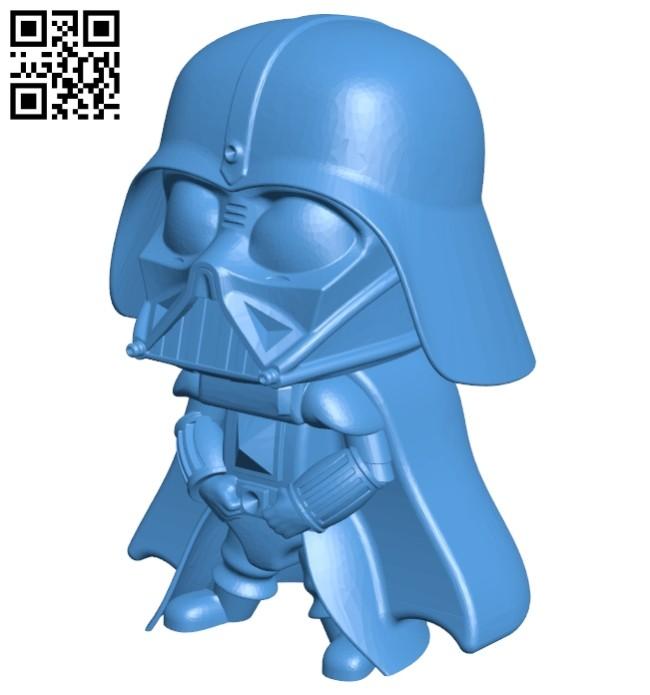 Darth Vader B007472 file stl free download 3D Model for CNC and 3d printer