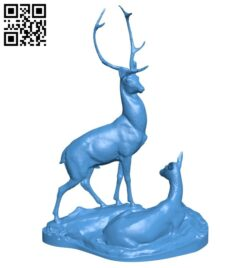 Deers B007214 file stl free download 3D Model for CNC and 3d printer