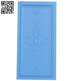 Door pattern A004791 download free stl files 3d model for CNC wood carving