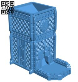 Dwarf watchtower B007451 file stl free download 3D Model for CNC and 3d printer