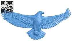 Eagle spread wings A004821 download free stl files 3d model for CNC wood carving