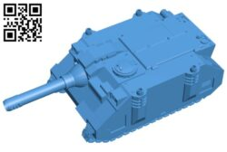 Elefant tank destroyer B007585 file stl free download 3D Model for CNC and 3d printer