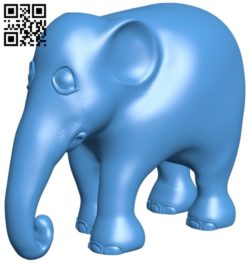 Elephant B007121 file stl free download 3D Model for CNC and 3d printer