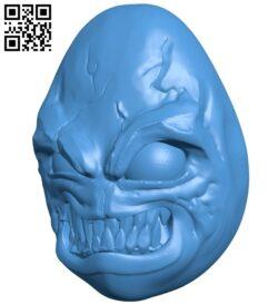Evil egg B007384 file stl free download 3D Model for CNC and 3d printer