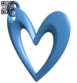 Heart jart B007211 file stl free download 3D Model for CNC and 3d printer