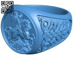Historic ring B007208 file stl free download 3D Model for CNC and 3d printer