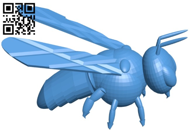 Honey-bee B007575 file stl free download 3D Model for CNC and 3d printer