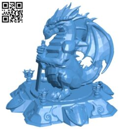 Hots buildings core dragon B007508 file stl free download 3D Model for CNC and 3d printer