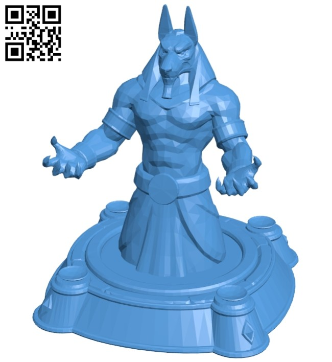 Hots buildings lux core anubis B007514 file stl free download 3D Model for CNC and 3d printer