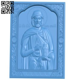 Icon Saint Moses A004827 download free stl files 3d model for CNC wood carving