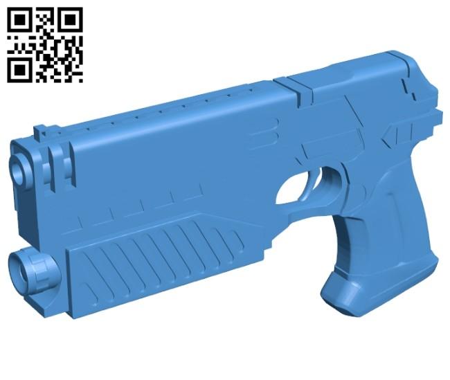 Lawgiver gun B007394 file stl free download 3D Model for CNC and 3d printer
