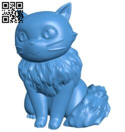 Lily cat B007256 file stl free download 3D Model for CNC and 3d printer