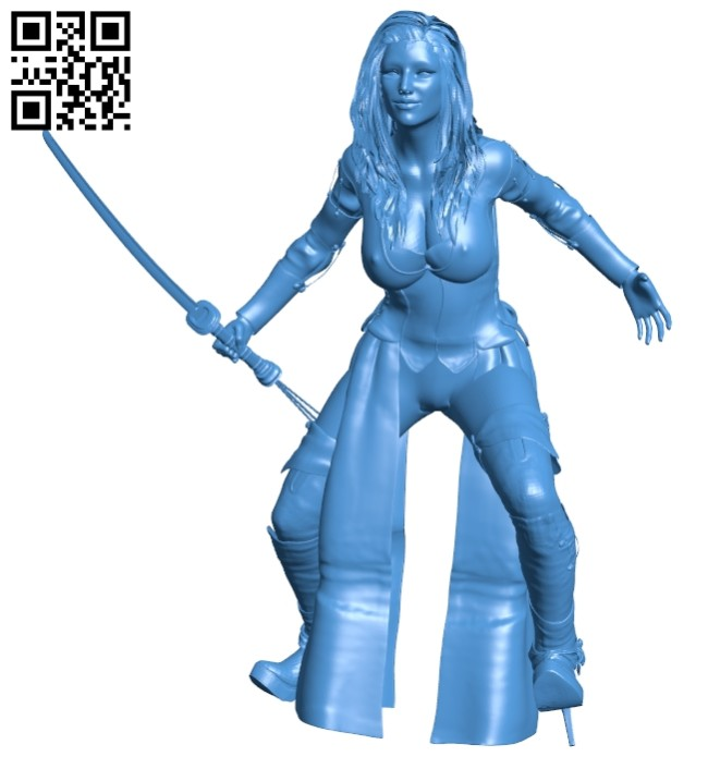 Miss Blade B007583 file stl free download 3D Model for CNC and 3d printer