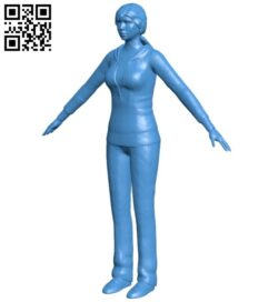 Miss Lexine Weller B007589 file stl free download 3D Model for CNC and 3d printer