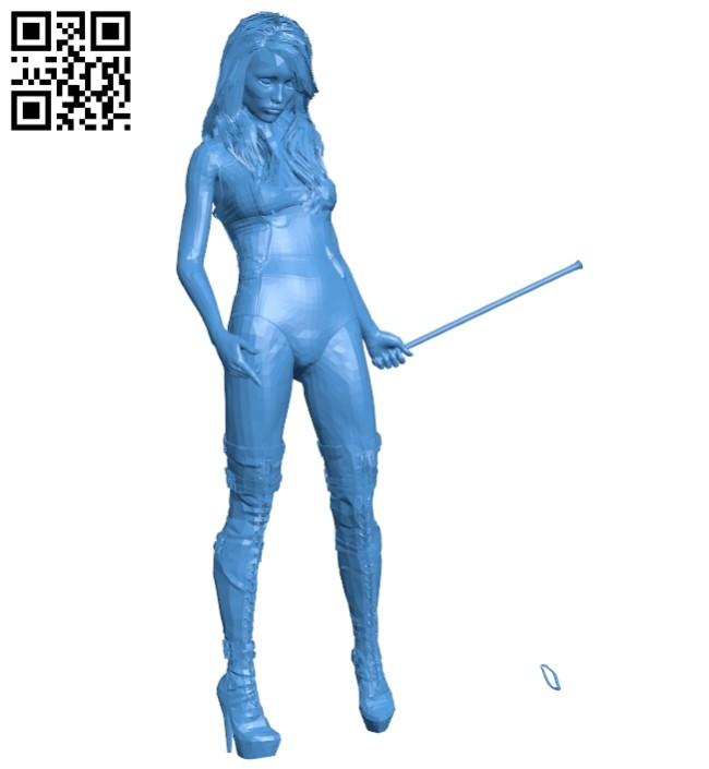 Mistress women B007520 file stl free download 3D Model for CNC and 3d printer