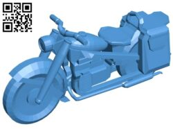 Motorbike bmw r75 B007590 file stl free download 3D Model for CNC and 3d printer