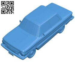 Old car B007351 file stl free download 3D Model for CNC and 3d printer