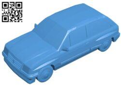 Opel Corsa car B007440 file stl free download 3D Model for CNC and 3d printer