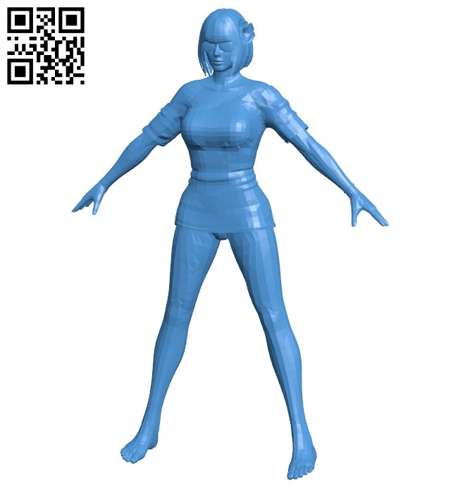 Open air girl B007434 file stl free download 3D Model for CNC and 3d printer