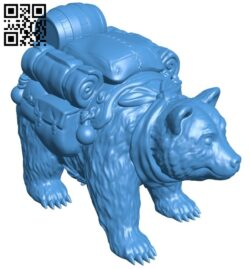 Pack bear B007241 file stl free download 3D Model for CNC and 3d printer