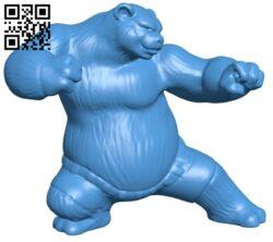 Panda B007315 file stl free download 3D Model for CNC and 3d printer