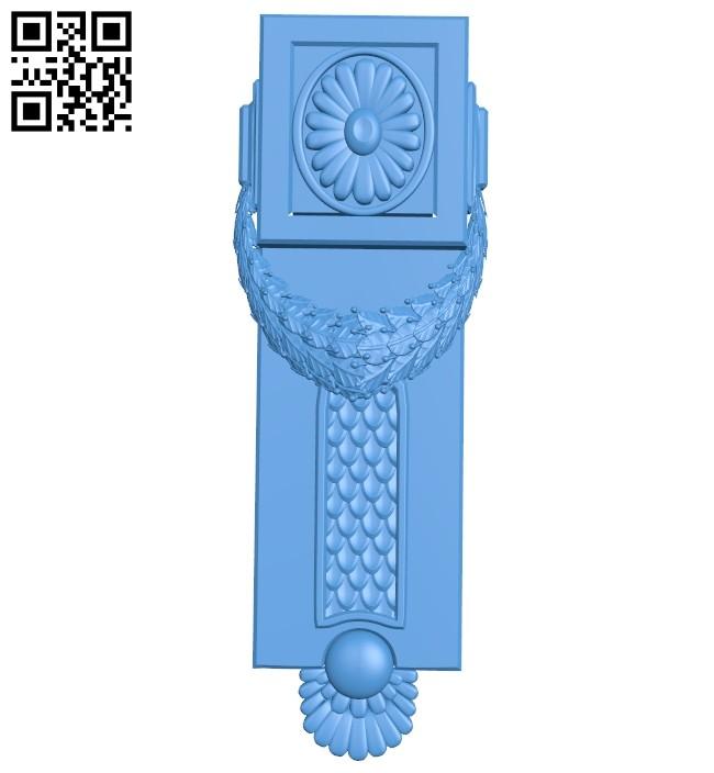 Pattern decor design A004884 download free stl files 3d model for CNC wood carving