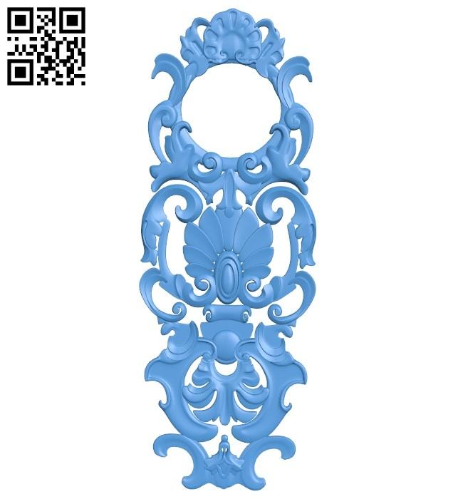 Pattern decor design A004895 download free stl files 3d model for CNC wood carving