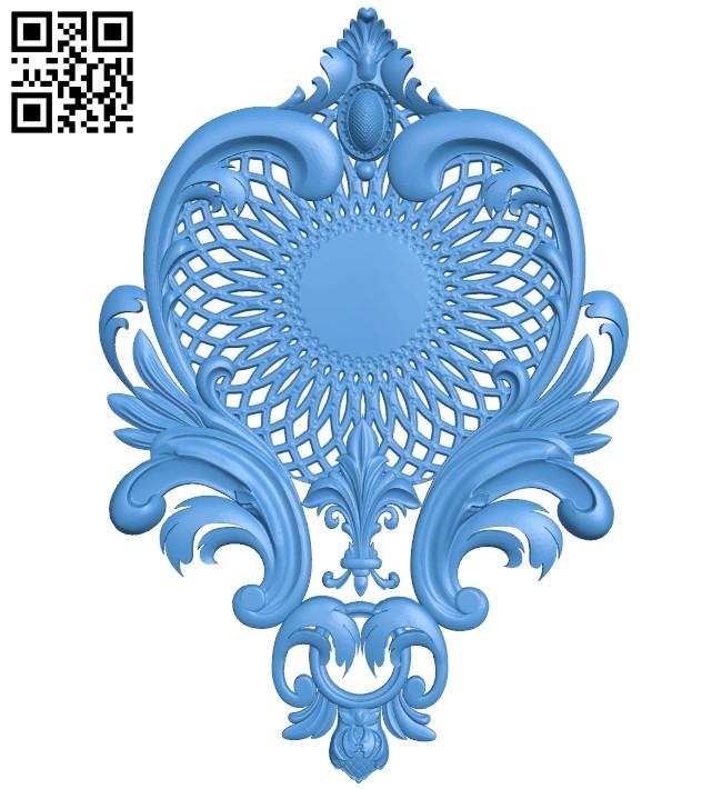 Pattern decor design A004901 download free stl files 3d model for CNC wood carving