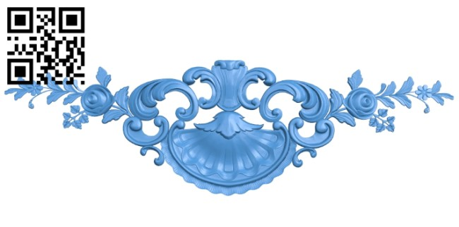 Pattern decor design A004904 download free stl files 3d model for CNC wood carving