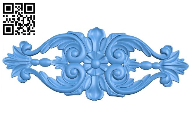 Pattern decor design A004905 download free stl files 3d model for CNC wood carving