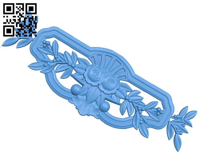 Pattern decor design A004910 download free stl files 3d model for CNC wood carving